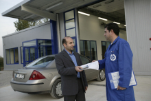 TUVTURK vehicle inspection centre