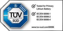 Tested for Primary Lithium Battery