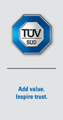 Global Homepage of TÜV SÜD